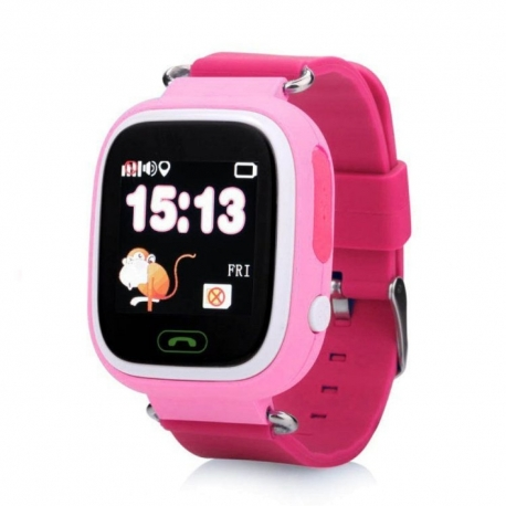Умные часы Family Smart Watch GPS 99 (розовые)