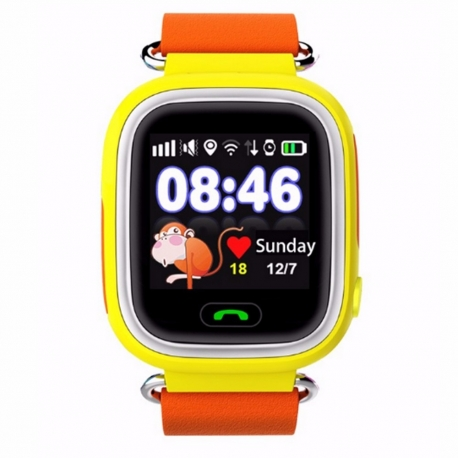 Умные часы Family Smart Watch GPS 99 (жёлтые)
