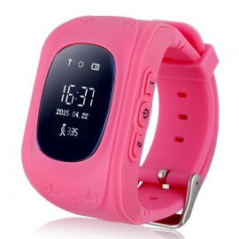 Умные часы Family Smart Watch GPS 50 (розовые)
