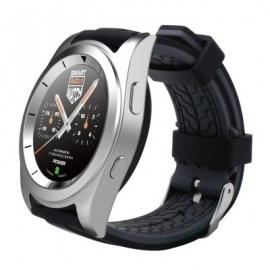Умные часы SmartWatch No.1 G6 серебристые