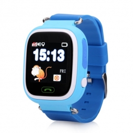 Умные часы Family Smart Watch GPS 100 (синие)