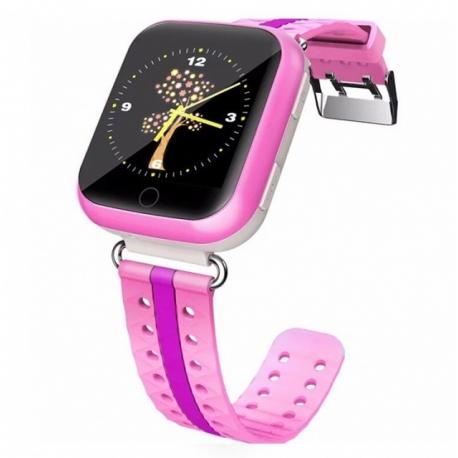 Умные часы Family Smart Watch GPS 100 (розовые)