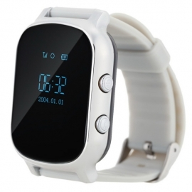 Умные часы Family Smart Watch GPS 58 (металлик)