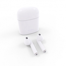 Беспроводные наушники, качественный аналог AirPods Bluetooth i7s для Iphone 7,8,X и Android