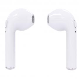 Беспроводные наушники, качественный аналог AirPods Bluetooth i7 tws для Iphone 7,8,X и Android