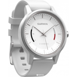 Garmin Vivomove Sport White with Sport Band (010-01597-01)