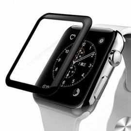 Защитное стекло 3D для Apple Watch 38 mm (края закругленные)