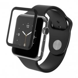 Защитное стекло 3D для Apple Watch 42 mm (края закругленные)
